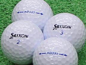【Aランク】SRIXON(スリクソン) AD333 ホワイト 2011年モデル 1個