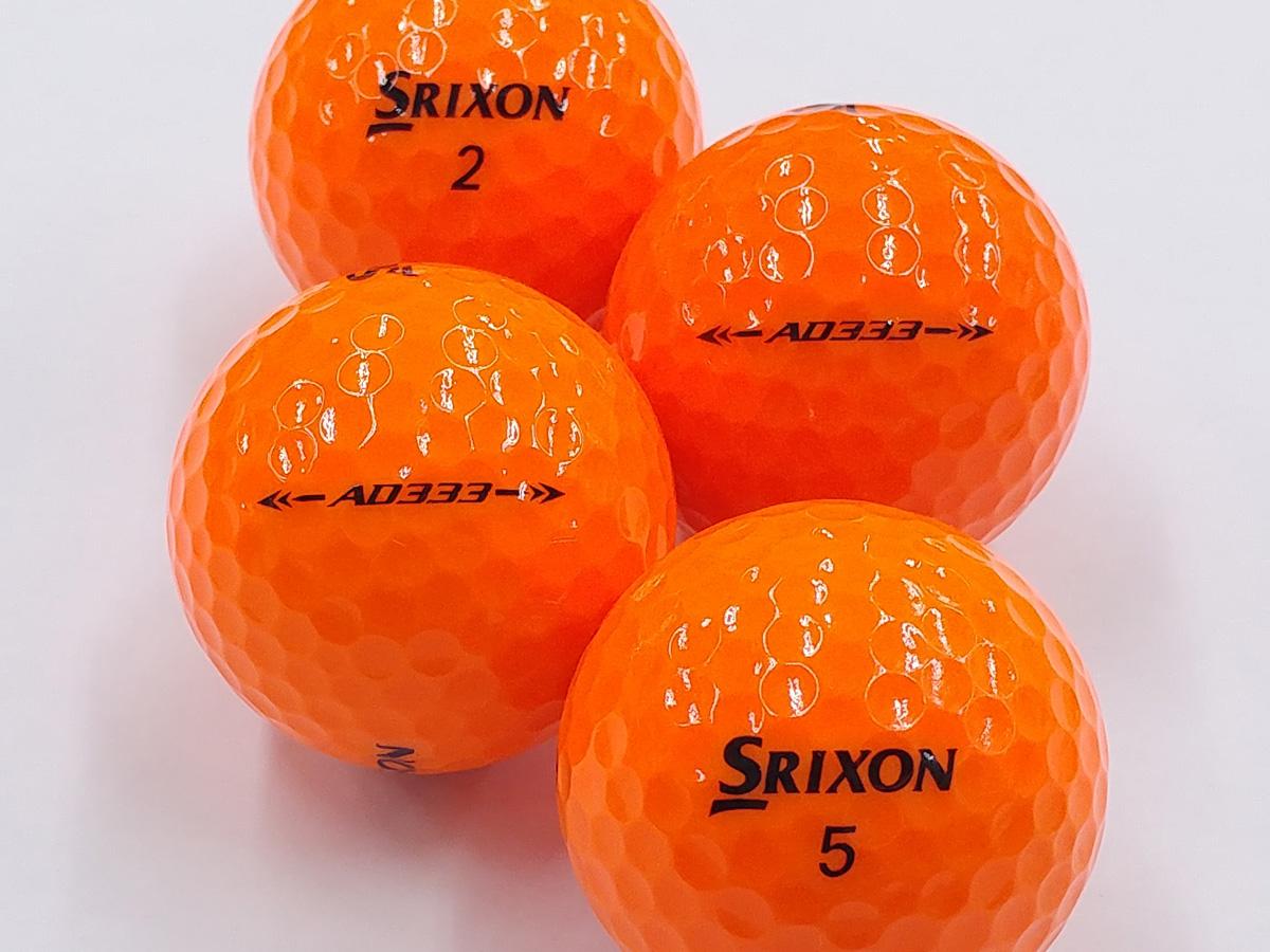 【Aランク】SRIXON(スリクソン) AD333 パッションオレンジ 2018年モデル 1個