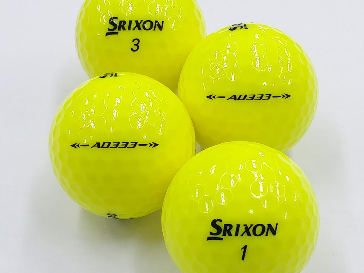 【Aランク】SRIXON(スリクソン) AD333 パッションイエロー 2018年モデル 1個