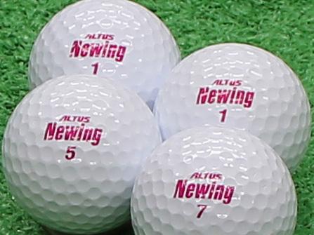 【Aランク】Newing(ニューイング) アルタスニューイング ホワイト(文字色:ピンク) 1個