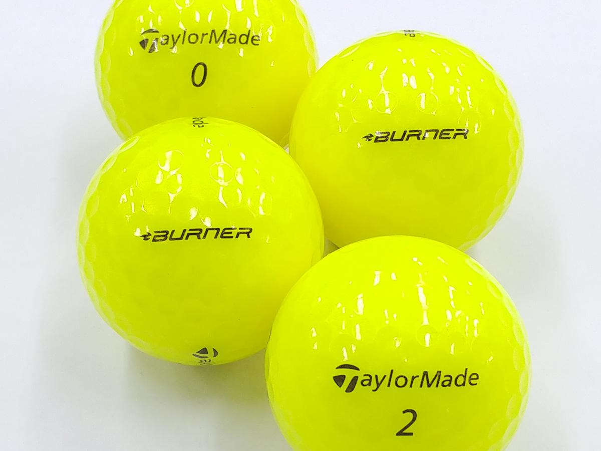 【Aランク】Taylor Made(テーラーメイド) BURNER DISTANCE イエロー 2018年モデル 1個