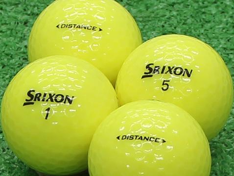 【Aランク】SRIXON(スリクソン) DISTANCE パッションイエロー 2011年モデル 1個