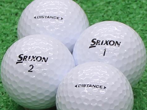 【Aランク】SRIXON(スリクソン) DISTANCE ホワイト 2011年モデル 1個