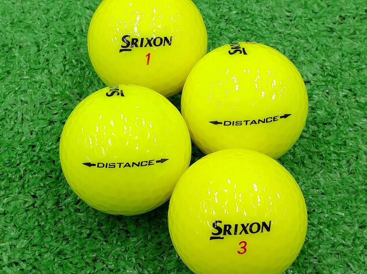 【Aランク】SRIXON(スリクソン) DISTANCE パッションイエロー 2015年モデル 1個