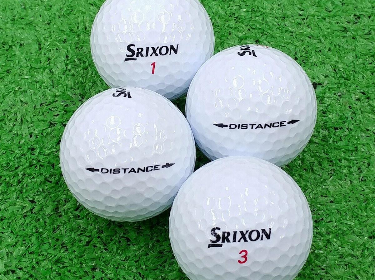 【Aランク】SRIXON(スリクソン) DISTANCE ホワイト 2015年モデル 1個