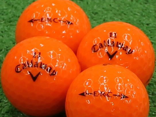 【Aランク】Callaway(キャロウェイ) ERC クリスタルオレンジ 2013年モデル 1個