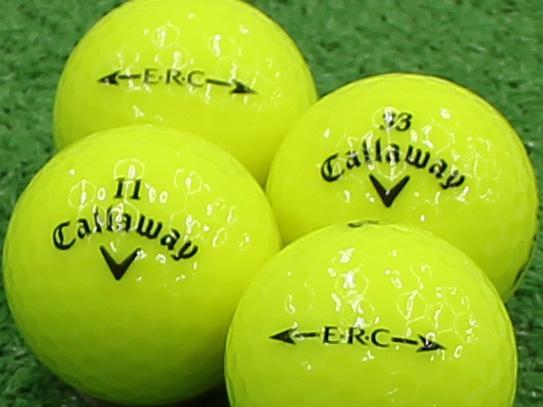 【Aランク】Callaway(キャロウェイ) ERC クリスタルイエロー 2013年モデル 1個