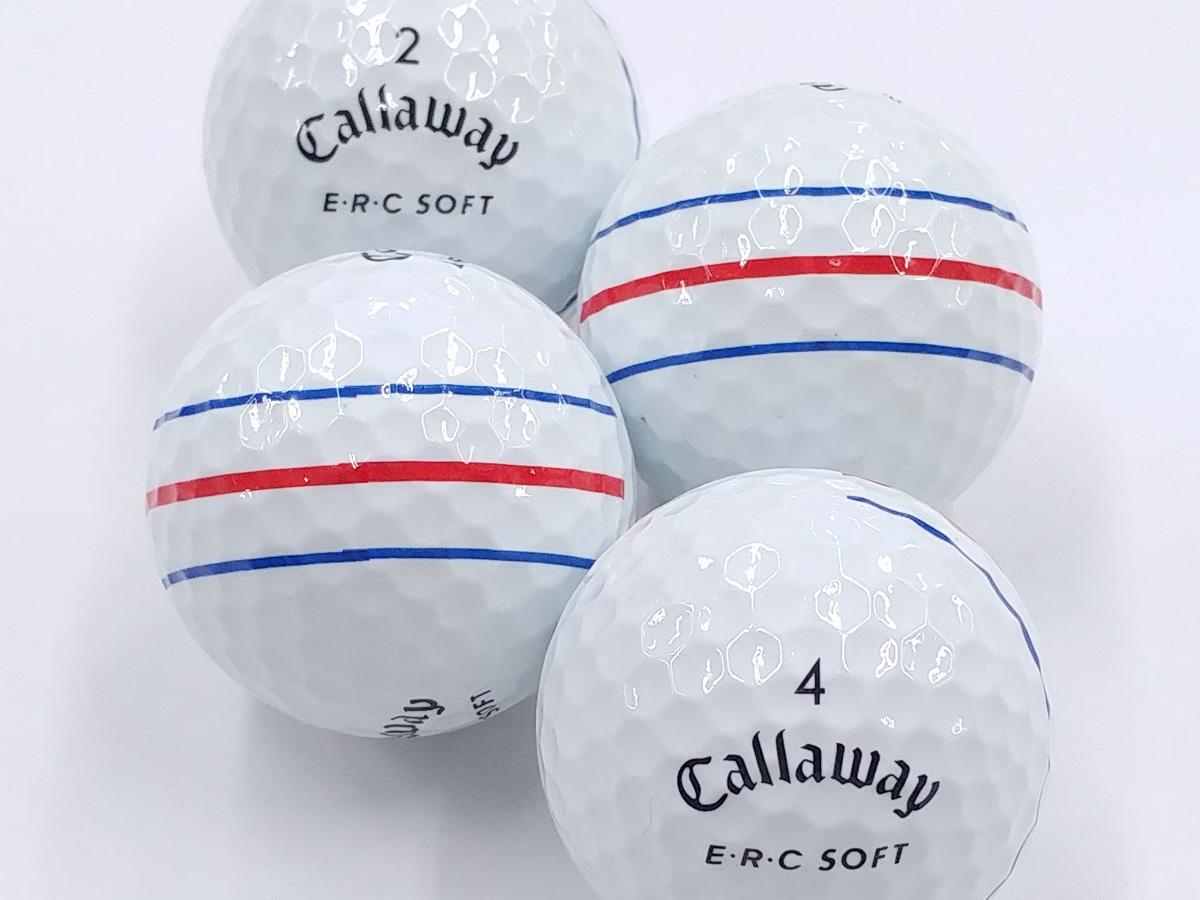 【Aランク】Callaway(キャロウェイ) E・R・C SOFT ホワイト 2019年モデル 1個