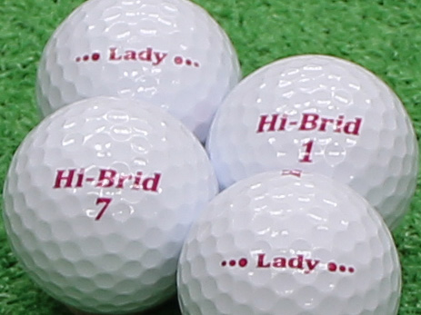 【Aランク】HI-BRID Lady ホワイト 2012年モデル 1個