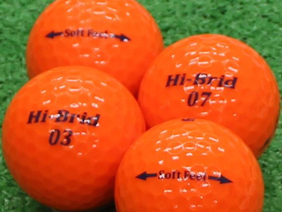 【Aランク】HI-BRID Soft Feel パッションオレンジ 2012年モデル 1個