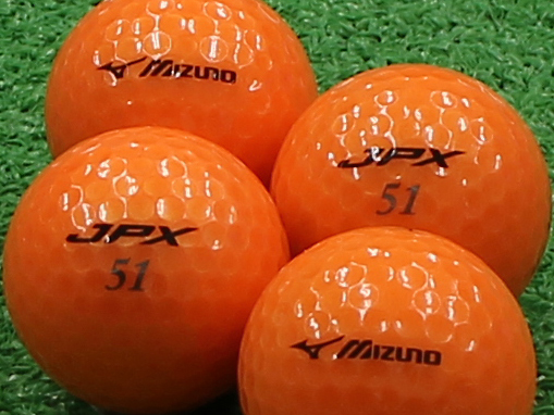 【Aランク】ミズノ JPX オレンジパール 2012年モデル 1個