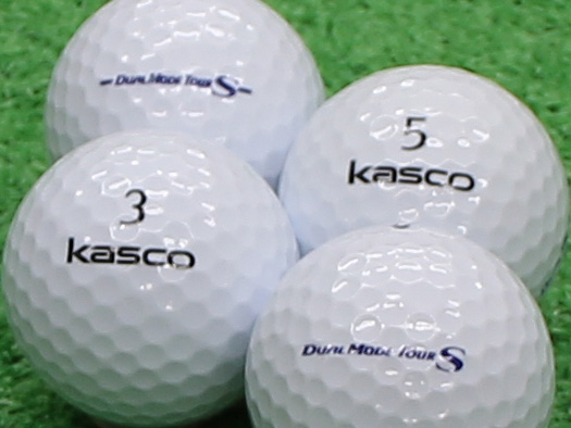 【Aランク】Kasco(キャスコ) KIRA  DUAL MODE TOUR S ホワイト 1個