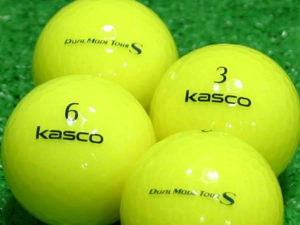 【Aランク】Kasco(キャスコ) KIRA  DUAL MODE TOUR S イエロー 1個