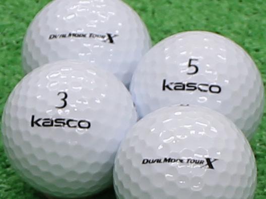 【Aランク】Kasco(キャスコ) KIRA  DUAL MODE TOUR X ホワイト 1個