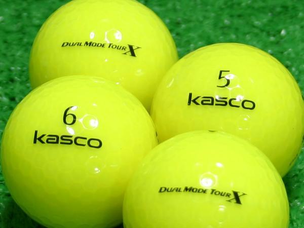【Aランク】Kasco(キャスコ) KIRA  DUAL MODE TOUR X イエロー 1個