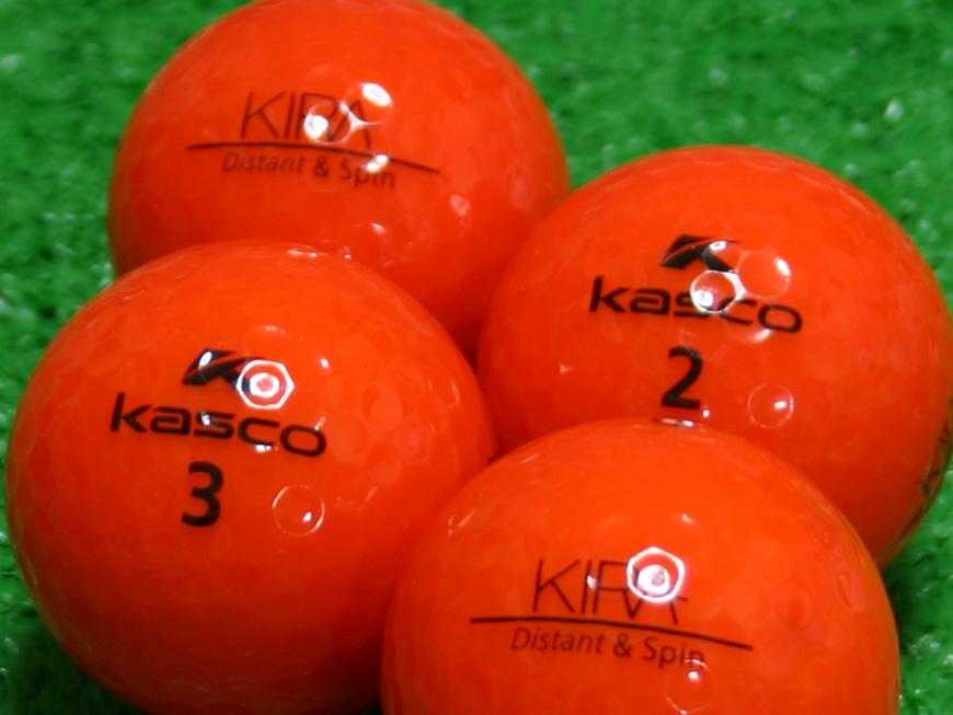 【Aランク】Kasco(キャスコ) KIRA Distant&Spin レッド 1個