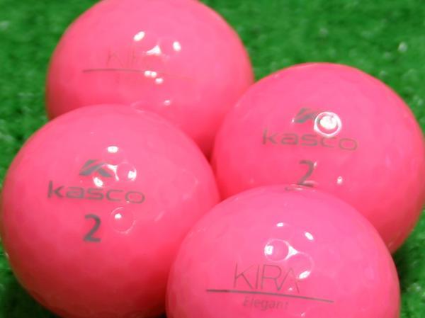 【Aランク】Kasco(キャスコ) KIRA Elegant ピンク 1個