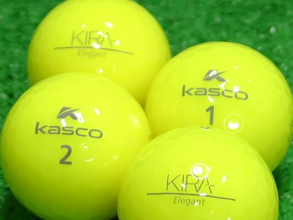 【Aランク】Kasco(キャスコ) KIRA Elegant イエロー 1個