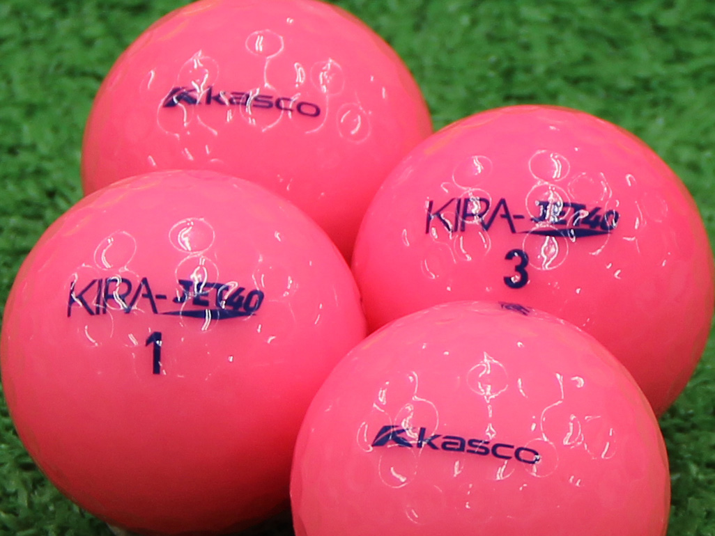 【Aランク】Kasco(キャスコ) KIRA JET40 ピンク 2013年モデル 1個