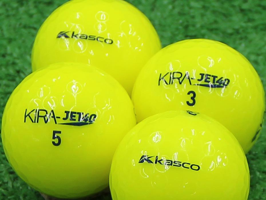 【Aランク】Kasco(キャスコ) KIRA JET40 イエロー 2013年モデル 1個