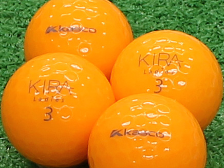 【Aランク】Kasco(キャスコ) KIRA Ladies オレンジ 2012年モデル 1個