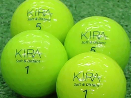 【Aランク】Kasco(キャスコ) KIRA Soft&Distant ライム 2012年モデル 1個