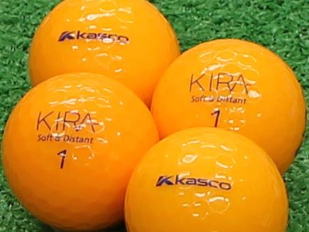 【Aランク】Kasco(キャスコ) KIRA Soft&Distant オレンジ 2012年モデル 1個