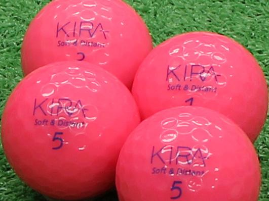 【Aランク】Kasco(キャスコ) KIRA Soft&Distant ピンク 2012年モデル 1個