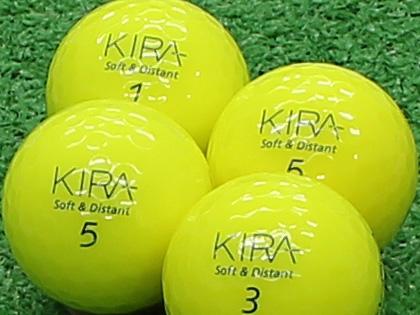 【Aランク】Kasco(キャスコ) KIRA Soft&Distant イエロー 2012年モデル 1個
