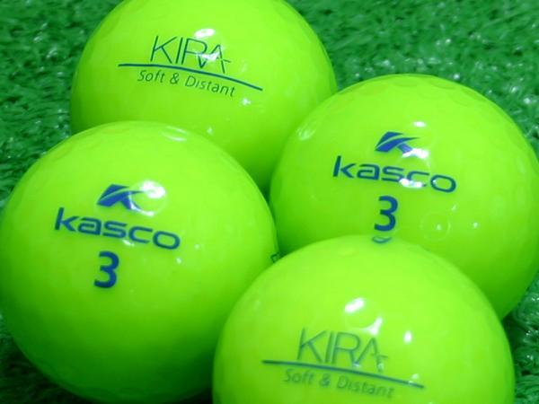 【Aランク】Kasco(キャスコ) KIRA Soft&Distant ライム 1個