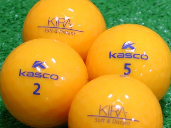 【Aランク】Kasco(キャスコ) KIRA Soft&Distant オレンジ 1個