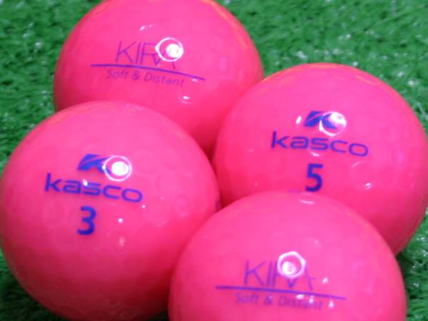 【Aランク】Kasco(キャスコ) KIRA Soft&Distant ピンク 1個