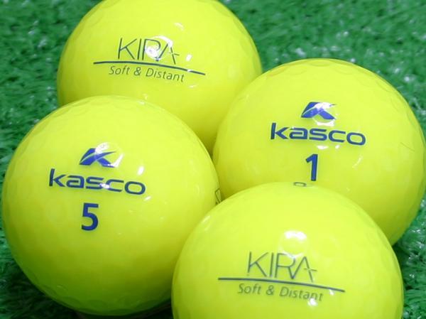 【Aランク】Kasco(キャスコ) KIRA Soft&Distant イエロー 1個