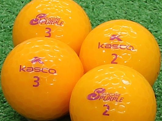 【Aランク】Kasco(キャスコ) KIRA SILICONE PURPLE オレンジ 1個