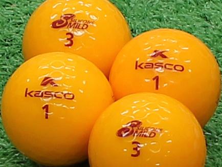 【Aランク】Kasco(キャスコ) KIRA SILICONE MILD オレンジ 1個