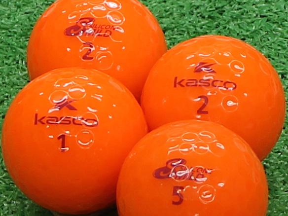 【Aランク】Kasco(キャスコ) KIRA SILICONE MILD 濃いオレンジ 1個