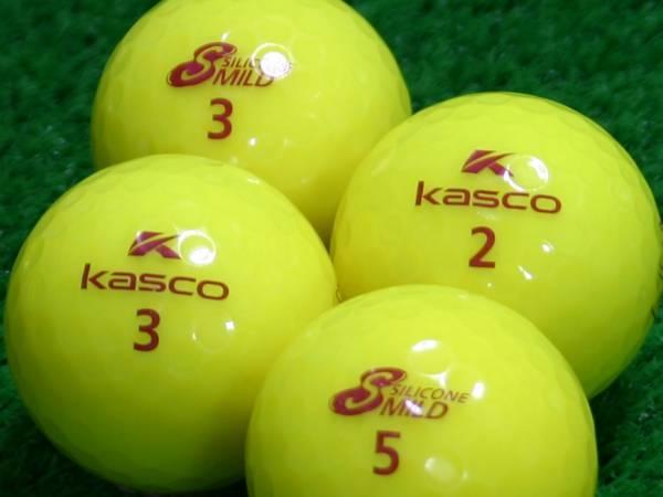 【Aランク】Kasco(キャスコ) KIRA SILICONE MILD イエロー 1個