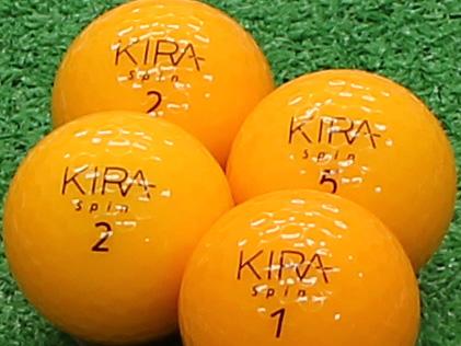 【Aランク】Kasco(キャスコ) KIRA Spin オレンジ 2012年モデル 1個