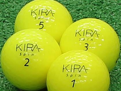 【Aランク】Kasco(キャスコ) KIRA Spin イエロー 2012年モデル 1個