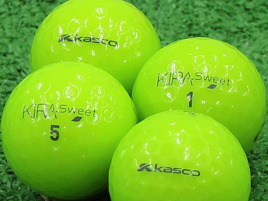 【Aランク】Kasco(キャスコ) KIRA Sweet ライム 2013年モデル 1個