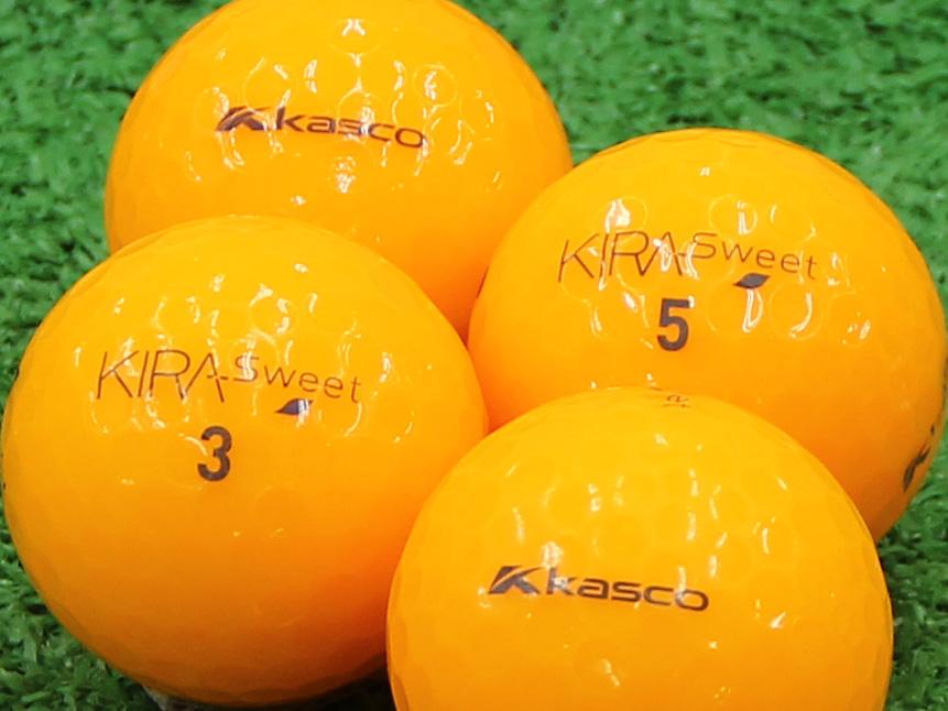 【Aランク】Kasco(キャスコ) KIRA Sweet オレンジ 2013年モデル 1個