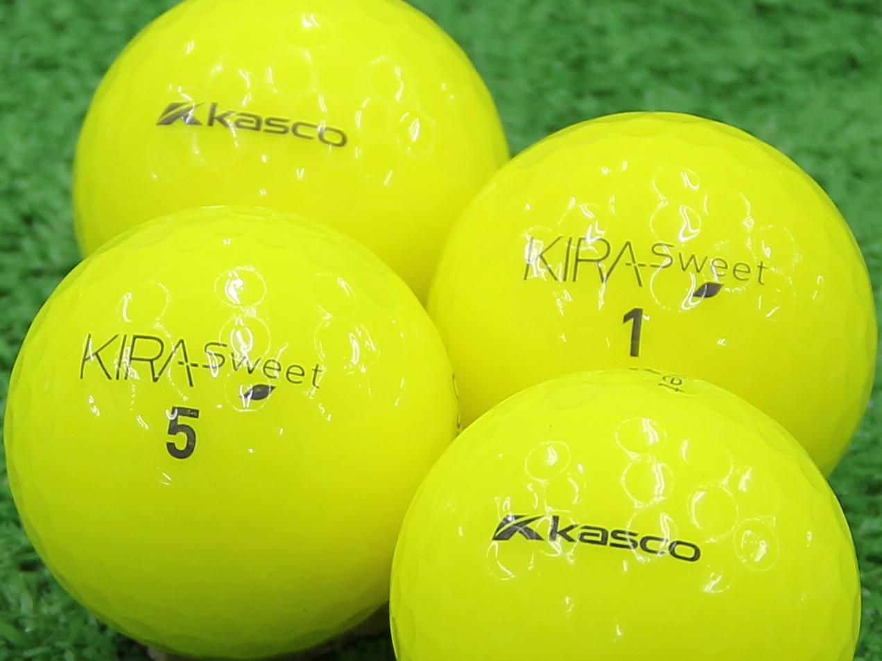 【Aランク】Kasco(キャスコ) KIRA Sweet イエロー 2013年モデル 1個