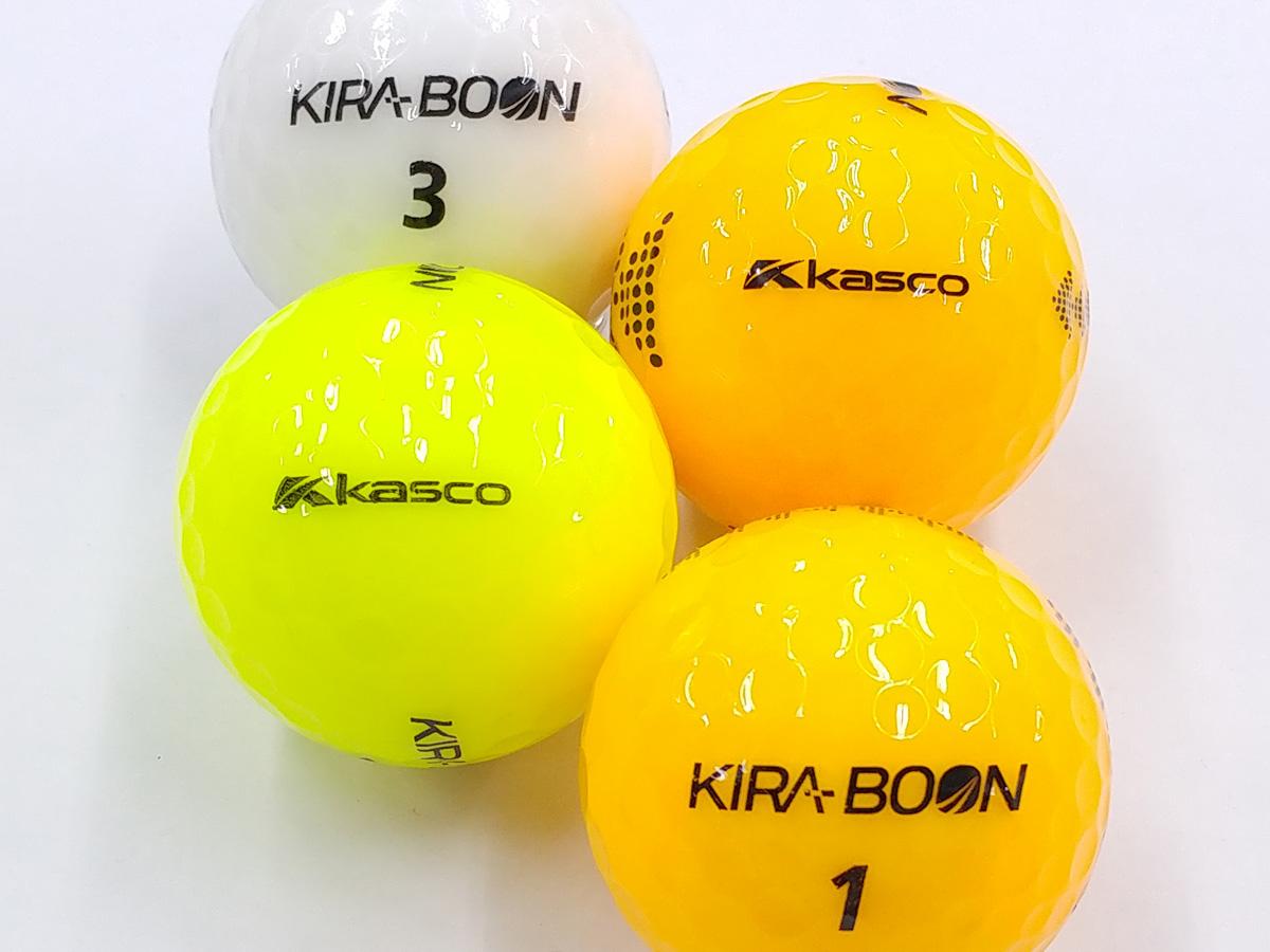 【Aランク】Kasco(キャスコ) KIRA BOON ホワイト・カラー混合 2018年モデル 1個