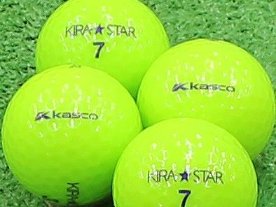 【Aランク】Kasco(キャスコ) KIRA★STAR ライム 2013年モデル 1個