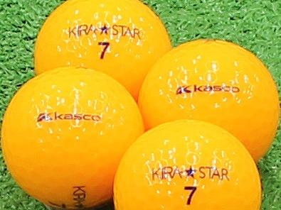 【Aランク】Kasco(キャスコ) KIRA★STAR オレンジ 2013年モデル 1個