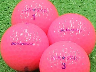 【Aランク】Kasco(キャスコ) KIRA★STAR ピンク 2013年モデル 1個