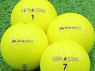 【Aランク】Kasco(キャスコ) KIRA★STAR イエロー 2013年モデル 1個