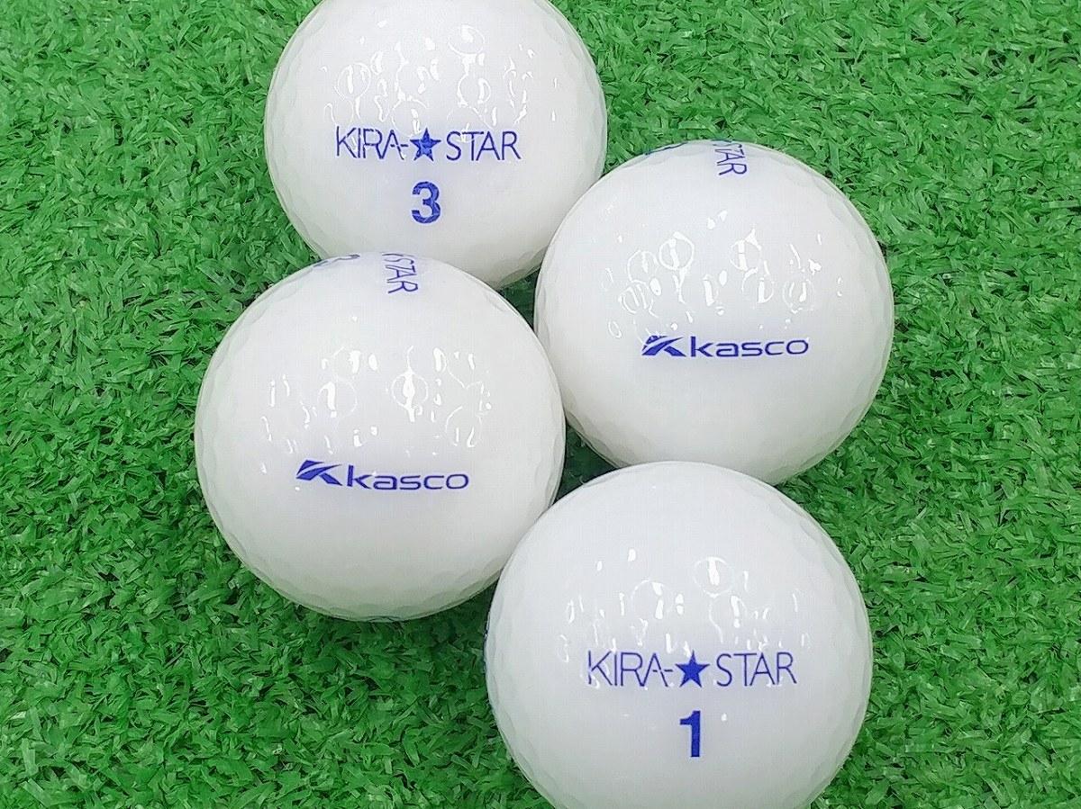 【Aランク】Kasco(キャスコ) KIRA★STAR ホワイト 2015年モデル 1個