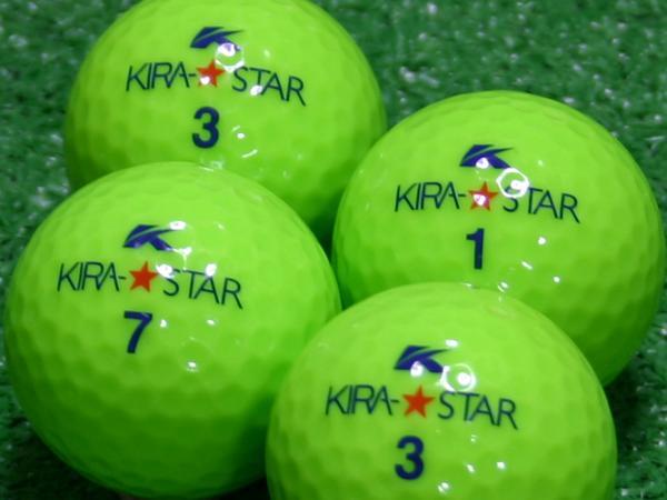 【Aランク】Kasco(キャスコ) KIRA★STAR ライム 2010年モデル 1個