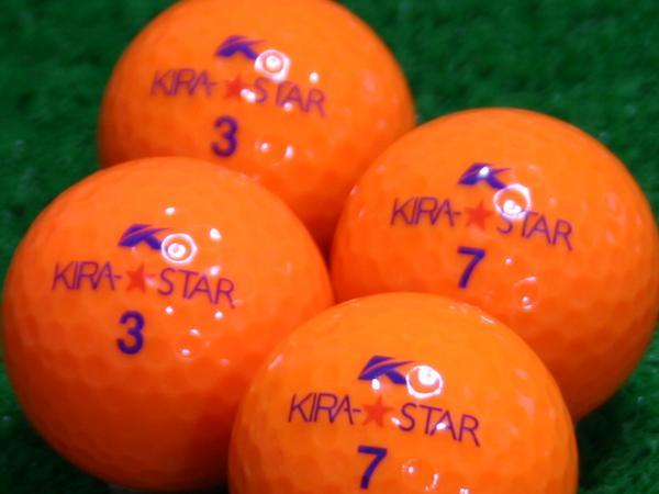 【Aランク】Kasco(キャスコ) KIRA★STAR オレンジ 2010年モデル 1個